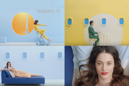 Air France Pub Marketing