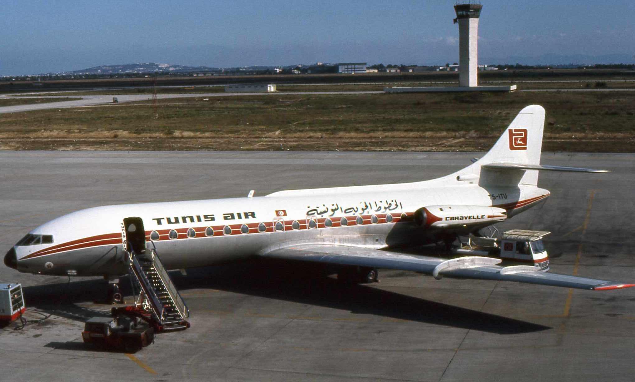 Caravelle Aérospatiale TunisAir