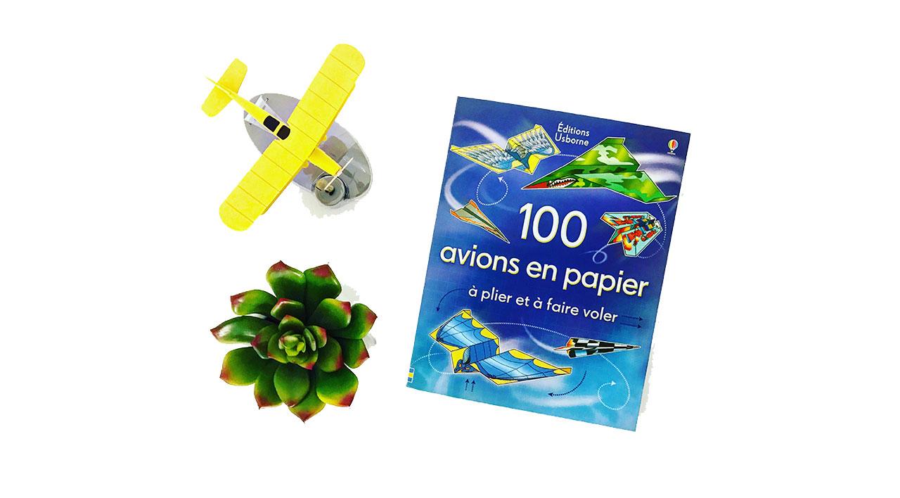 livre-100-avions-en-papier
