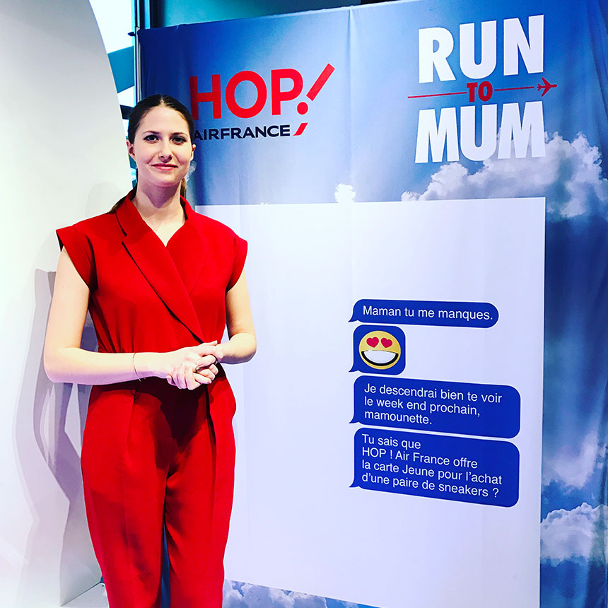 Hôtesse Hop! Air France - Run to Mum