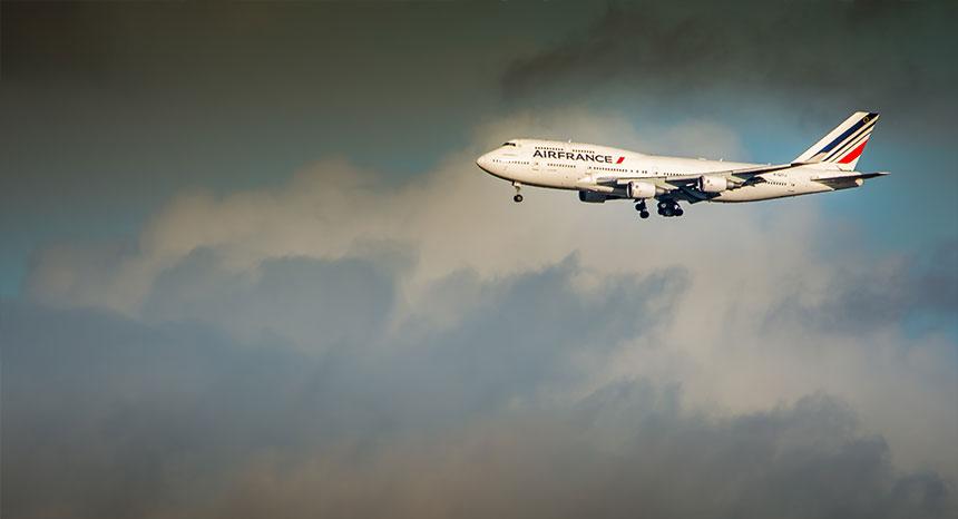Pol Bacquet Dernier vol Boeing 747 Air France
