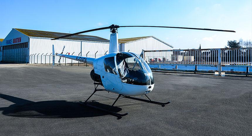 Paris Hélicoptère - Robinson R22