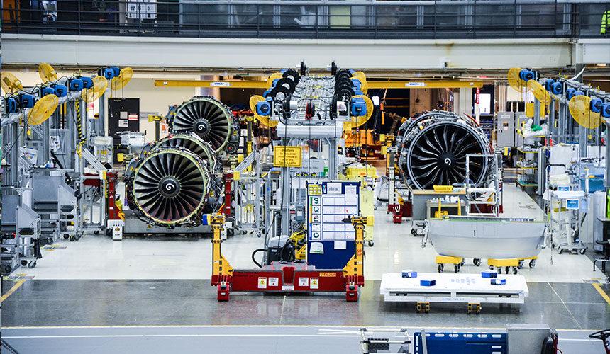 moteur avion boeing