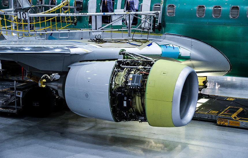 reacteur boeing 737 renton