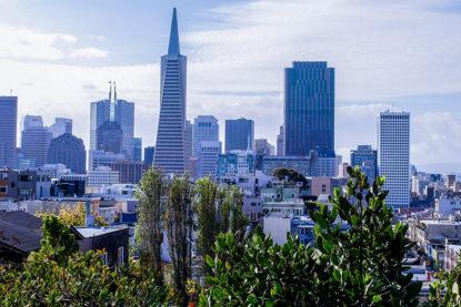 Vue de la Transamerica Tower San Francisco