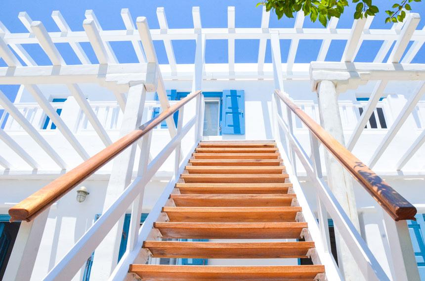 Extérieurs de Petinaros Hotel Mykonos