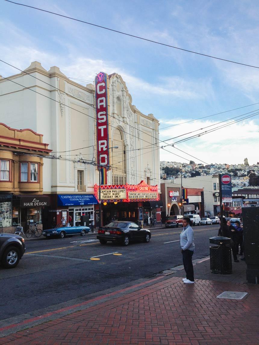 Le cinéma de Castro à San Francisco