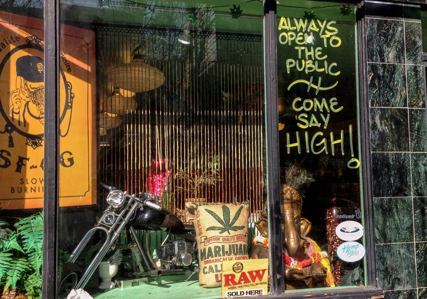 Haight Ashbury San Francisco shop