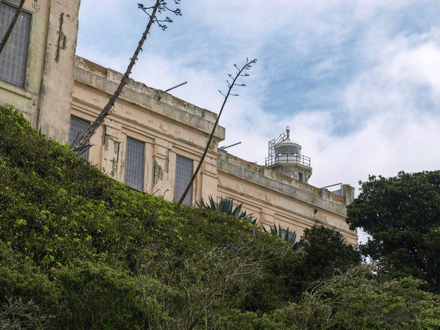 Extérieur de la prison d'Alcatraz