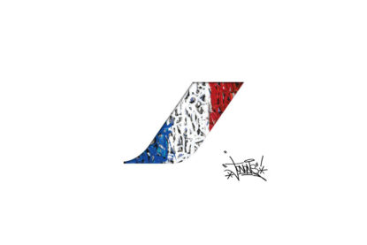 Jonone pour Air France