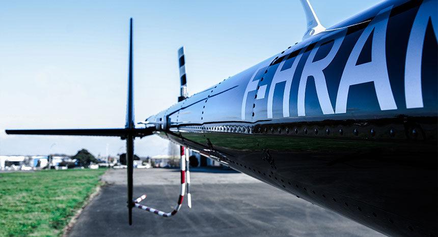 RobinsonR44 rotor de queue