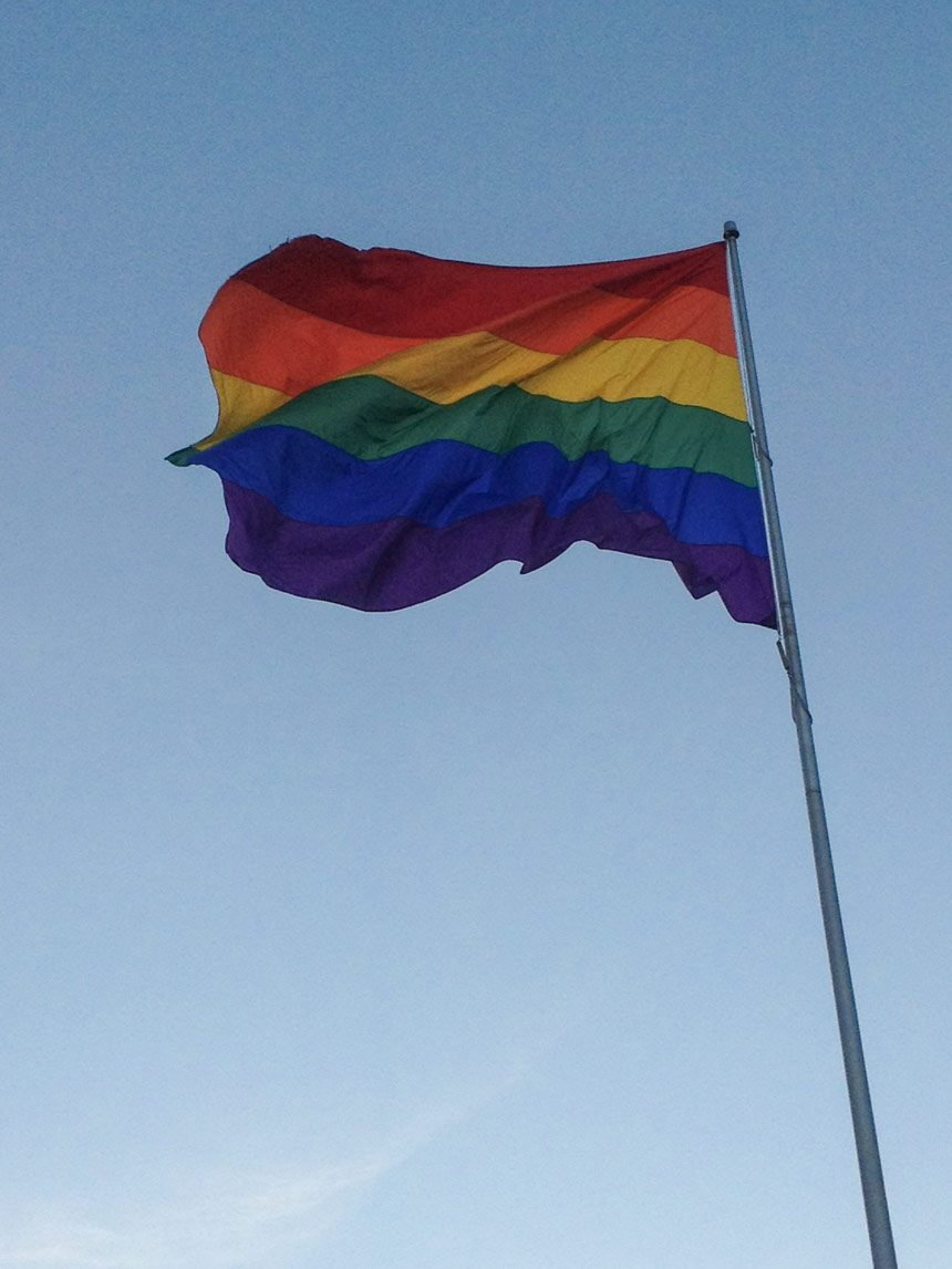 Le rainbowflag de Castro