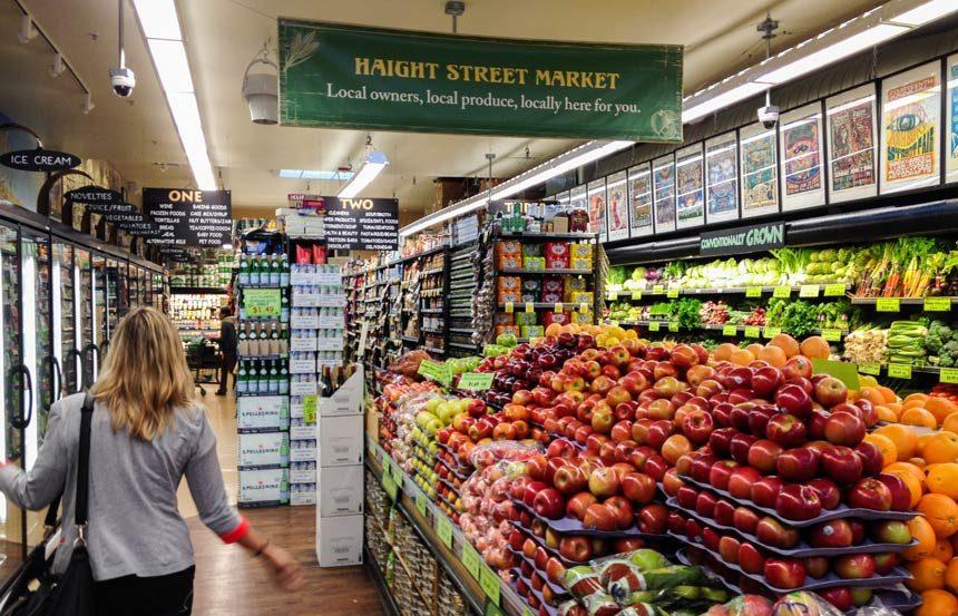 Haight Ashbury San Francisco market
